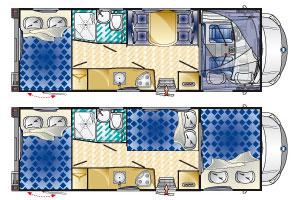 Monzacamper Blucamp Lucky 650 - L