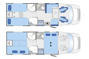 Monzacamper Challenger Mageo 387GA - B